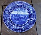 Antique Rowland  and Marcellus Historical Plate - British Retreat From Concord