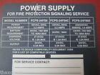 FIRE ALARM FIELD CHARGER/ POWER SUPPLY S2424 FCPS - 24FS6/24FS6C/24FS6E