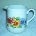Vintage Corelle Coordinates Creamer Pitcher in the Summer Blush Ptn Pansy Nice!!