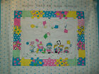 Pillow Sham or Wall Hanging Craft Panel to Sew-Kids Sports