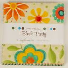 Moda Fabric-Block Party By Sandy Gervais-Charm Pack