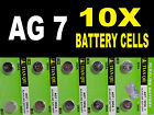 AG7 395 SR927W SR57 Watch Battery Coin Cells Batteries Alkaline UK Seller B4