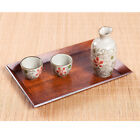 Japanese Wood Tray Large Serving Table Bed Breakfast Drinks Rustic Decoration