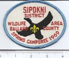 BSA: Four Rivers Council (KY) - Sipokni District 1969 Spring Camporee
