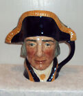 LARGE ROYAL DOULTON LORD NELSON 1951 TOBY JUG MUG #D6336 MINT CONDITION
