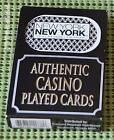 NEW YORK NEW YORK CASINO Las Vegas AUTHENTIC CASINO PLAYED CARDS CARTES A JOUR