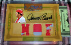 2008 Prime Cuts Icons JOHNNY BENCH Triple Jersey NUMBER NAME PATCH AUTO 4 6 Reds