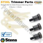 4111 710 8700  4111 007 1001 Blade and Bolt Aftermarket Kit for STIHL PolyCut