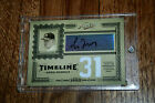 2005 Prime Cuts Timeline Material Number Greg Maddux Auto Dual Jersey 4 10