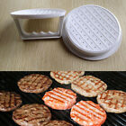 Plastic Hamburger Meat Beef Grill Burger Press Patty Maker Kitchen Mold Mould