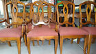 Vintage ETHAN ALLEN  FRENCH Country DINING SET- w/ 6 Chairs