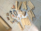 50+ Piece Lot VINTAGE Wooden Toys SIFO-Creative Playthings Train-Boats FREE SHIP