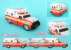 FDNY AMBULANCE New York City Motorized Fire Vehicle with Lights and Sound Action