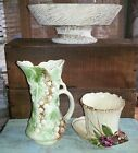 Vintage McCoy pottery lot *McCoy planters and pitcher *3 McCoy pieces total!