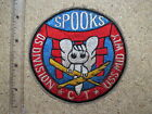 PATCH _ USS MIDWAY , SPOOKS , VIETNAM WAR PATCH ,  4 IN