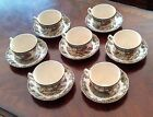 7 Cup & Saucer Sets VINTAGE 60's *Made in ENGLAND