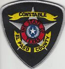 EL PASO COUNTY CONSTABLE SHERIFF TEXAS TX POLICE PATCH