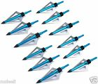 12pcs 125Grain 3 Blade Hunting arrow Broadheads for Crossbow and Compound
