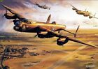 Handcraft Landscape Oil Painting on Canvas-aircraft of World War II  24x36inch