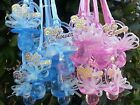 Pacifier Necklaces Baby Shower Games Favors Prizes Pink Blue Boys Girls
