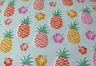 Snuggle Flannel Multi Color Pineapples Quilting Apparel General BTY New