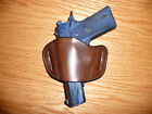 Belt Slide Leather Holster MEDIUM for 1911 Browning HiPower Kahr Tokarev USA