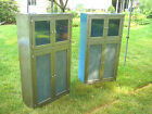 Two Great Metal  Industrial Cabinets