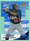 2013 Panini USA Champions BLUE DIE-CUT Addison Russell # 199 RC - CHIACGO CUBS