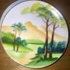 Occupied Japan Miniature Porcelain Decorative Wall Plate - SJB - Hand Painted