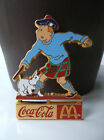 RARE pins Tintin Coca Cola Mc Donald