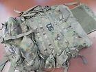 USGI MULTICAM LARGE RUCK MOLLE II RUCKSACK BACKPACK FRAME & SUSTAINMENT POUCHES