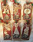 Christmas Vintage Lace 6 Large Hang Tags Scrapbooking Cards 104 judysjemscrafts