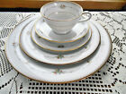 Noritake Joanne China 6 x 5 Piece Settings ~ Floral Beaded Band ~ FREE SHIPPING