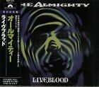 THE ALMIGHTY - Liveblood CD JAPAN POCP-1372 OBI 1993