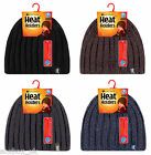 Heat Holder - Mens Thermal Lined Ribbed Heat Weaver 3.4 Tog Winter Hat