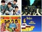 The Beatles 4 4x5s Fabric Quilt Block Quilting Blanket Sewing Fusing Square 3