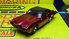 Model Motoring 69 GTO Convertible Candy Red HO slot car Body only Aurora NEW