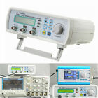 New 12MHz Dual-ch DDS Function Signal Generator Sine Square Wave Sweep Counter