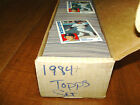 1984 Topps Baseball Card Set