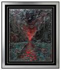 Lawrence Gipe Painting Oil on Canvas Original Abstract Artwork Signed Authentic