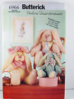 Butterick 6966 O'Hare Family Easter Bunnies Sewing Patterns One Size  Uncut c
