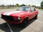 Ford  Mustang 1968 ford mustang coupe custom paint custom 302 motor