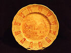 Alfred Meakin God bless our house throughout 1973 calendar zodiac plate