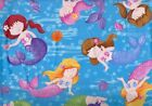 Little Mermaids fabric Northcott by the 1 2 YARD