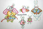Easter Bunnies Bunny Angel Family Holiday / Iron on Fabric Appliques No Sew