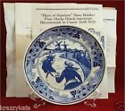 1982 The Hans Brinker Delft Plate Collection