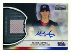 2011 BOWMAN STERLING MARK APPEL RC BLACK REFRACTOR JERSEY AUTO ASTROS #11 25