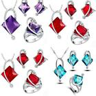 2015 Austrian Crystal Necklace Eaarrings ring  Accessory For Woman Wedding Party