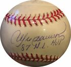 Andre Dawson Signed Official National League Baseball with Ins 87 NL MVP Steiner