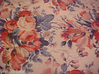 Waverly Fabric  Floral Flowers Fortuna Vintage 56